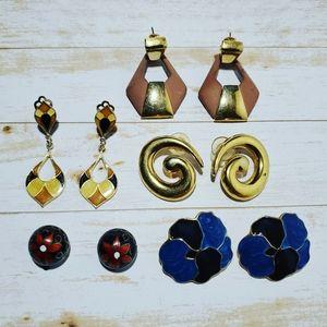 Lot of 5 earrings